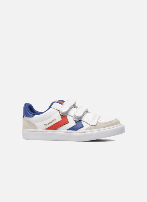 Sneakers Hummel Stadil JR Leather Low Wit achterkant