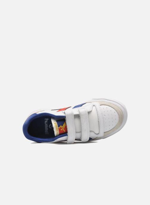 Sneaker Hummel Stadil JR Leather Low weiß ansicht von links