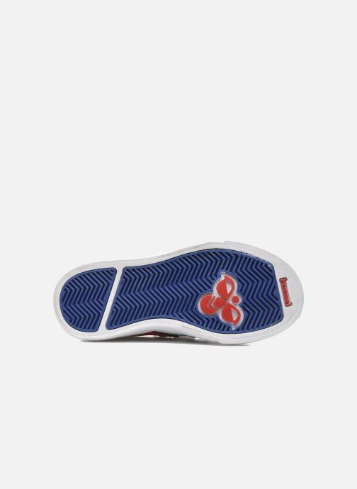 Sneakers Hummel Stadil JR Leather Low Bianco immagine dall'alto