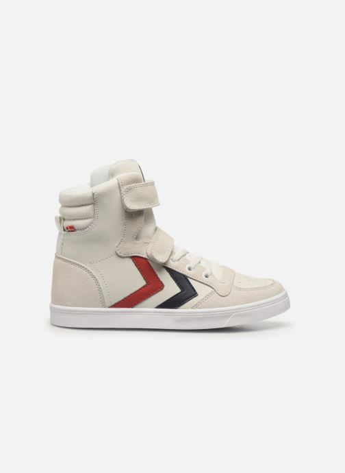 Sneakers Hummel Stadil JR Leather High Wit achterkant