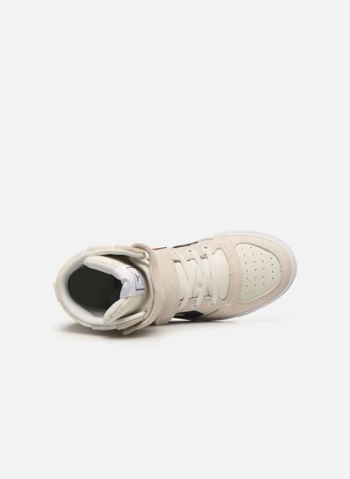 Baskets Hummel Stadil JR Leather High Blanc vue gauche