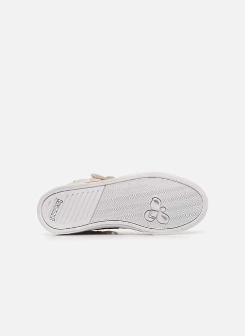 Sneakers Hummel Stadil JR Leather High Bianco immagine dall'alto