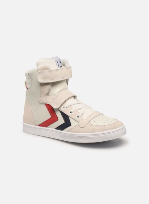 Sneakers Hummel Stadil JR Leather High Wit detail