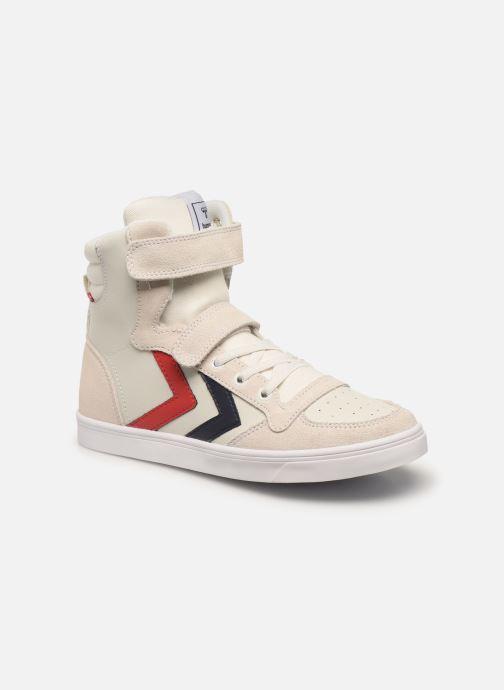 Sneakers Hummel Stadil JR Leather High Bianco vedi dettaglio/paio