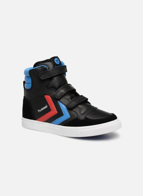 c571f8950fd Sneakers Hummel Stadil JR Leather High Sort detaljeret billede af skoene