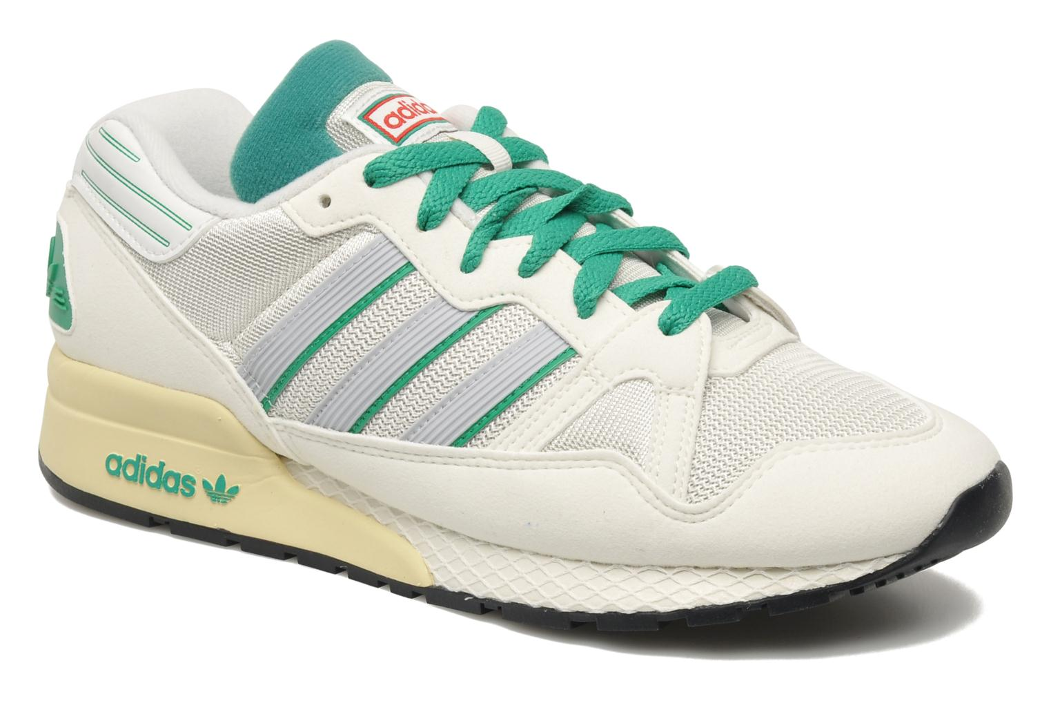 Baskets Adidas Originals Zx710 Blanc vue détail/paire