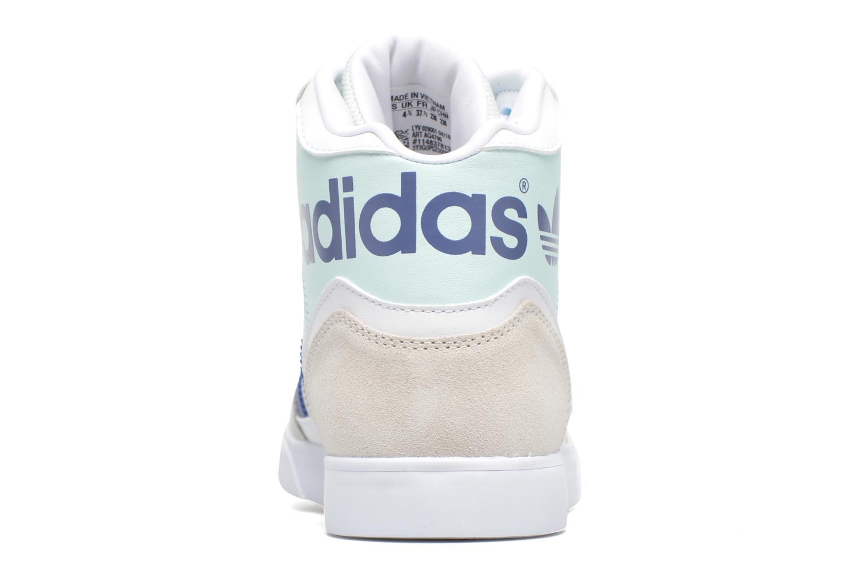 Baskets Adidas Originals Extaball W Blanc vue droite