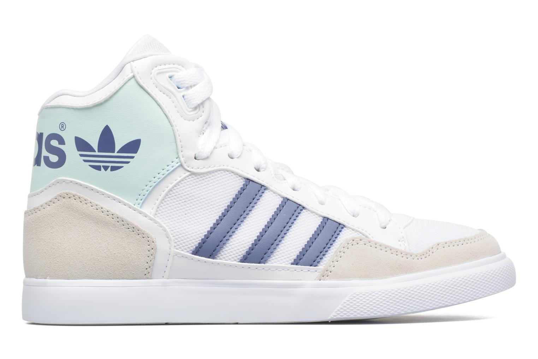Baskets Adidas Originals Extaball W Blanc vue derrière