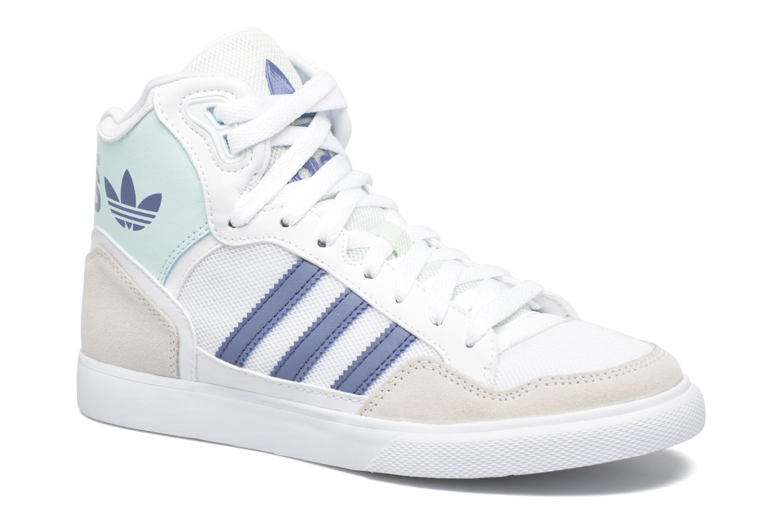 Baskets Adidas Originals Extaball W Blanc vue détail/paire