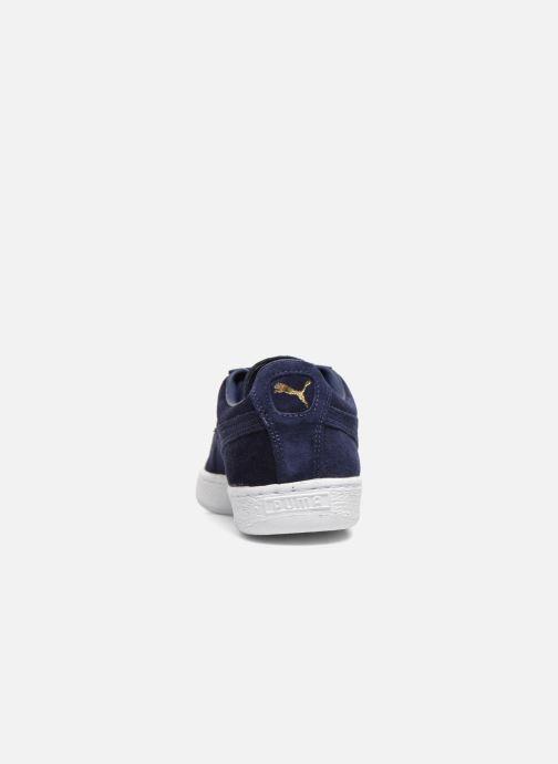 Baskets Puma Suede Classic+ Bleu vue droite