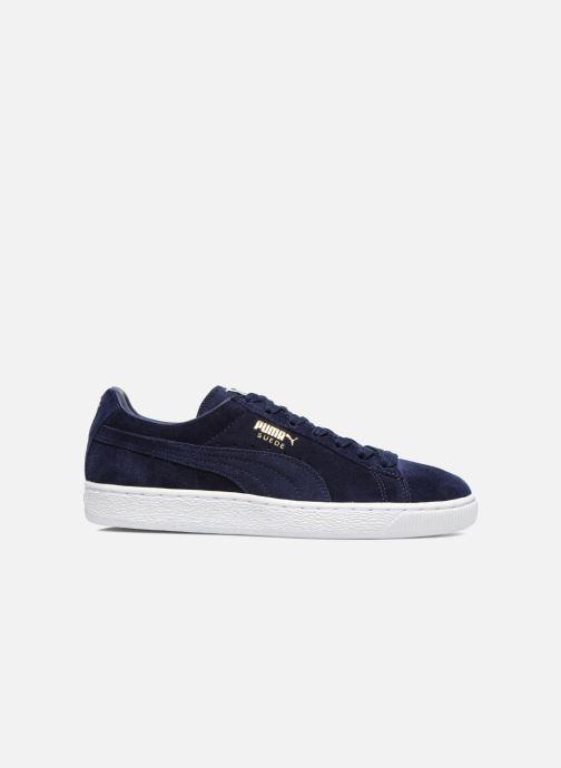 Sneaker Puma Suede Classic+ blau ansicht von hinten
