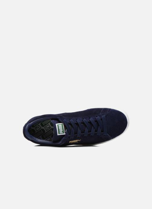 Sneaker Puma Suede Classic+ blau ansicht von links