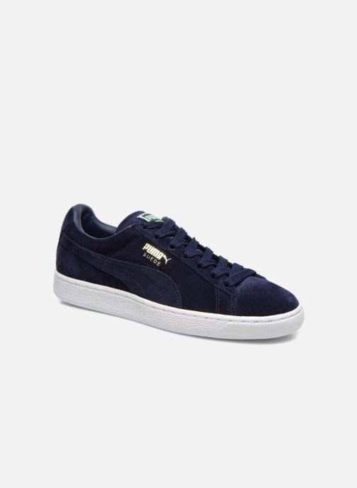 Trainers Puma Suede Classic+ Blue detailed view/ Pair view