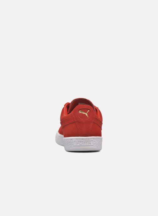 Baskets Puma Suede Classic+ Rouge vue droite