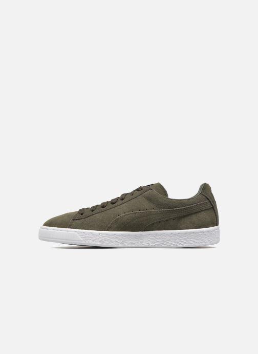 Sneaker Puma Suede Classic+ grün ansicht von vorne