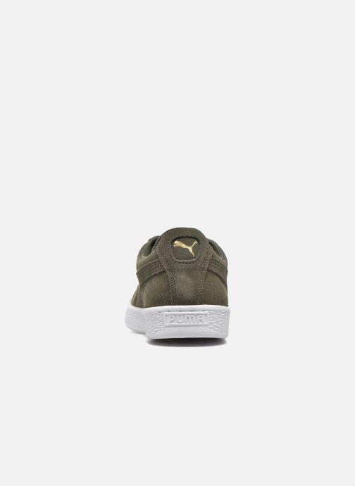 Baskets Puma Suede Classic+ Vert vue droite