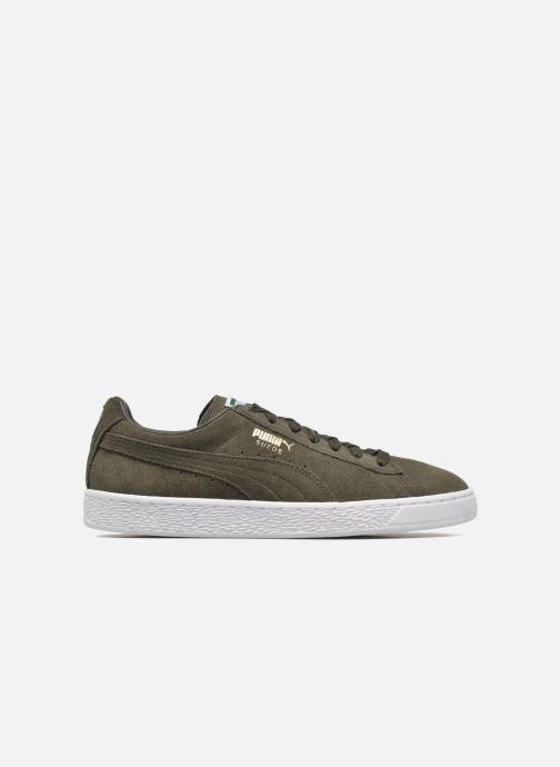 Sneaker Puma Suede Classic+ grün ansicht von hinten