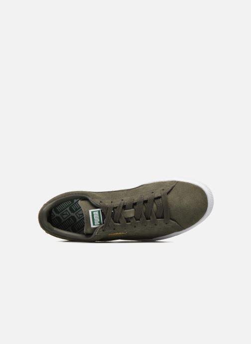 Sneaker Puma Suede Classic+ grün ansicht von links