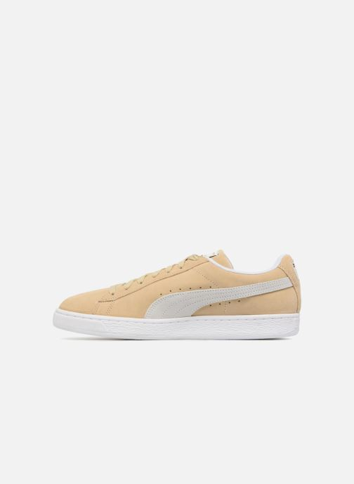 Sneakers Puma Suede Classic+ Beige se forfra