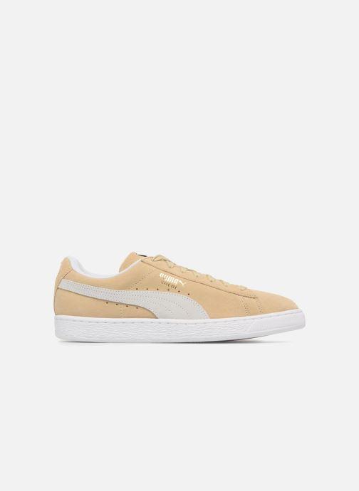 Sneaker Puma Suede Classic+ beige ansicht von hinten