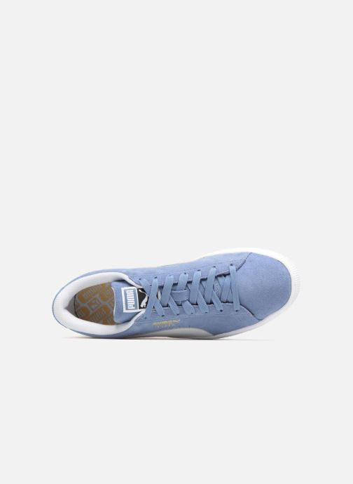 Baskets Puma Suede Classic+ Bleu vue gauche