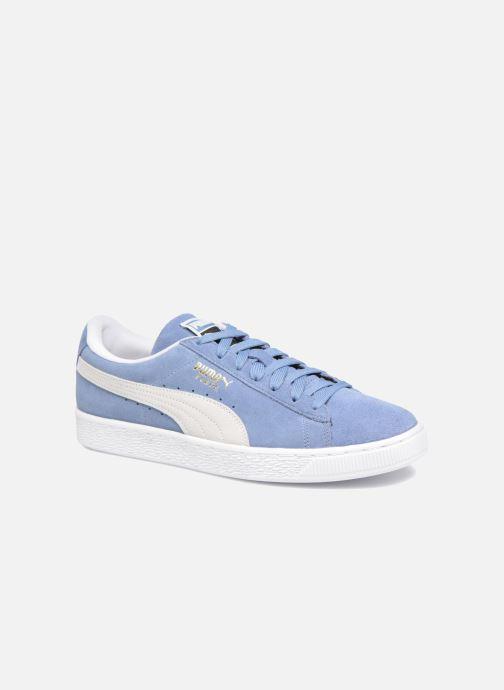 Baskets Puma Suede Classic+ Bleu vue détail/paire