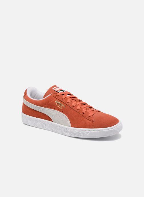 Baskets Puma Suede Classic+ Orange vue détail/paire