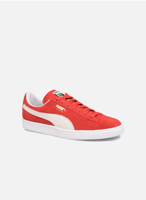 Baskets Puma Suede Classic+ Rouge vue détail/paire