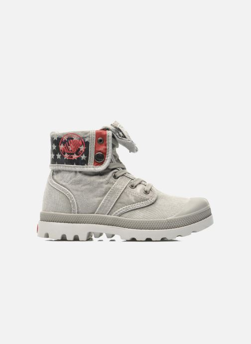 Ankle boots Palladium Baggy Kid Flag Grey back view