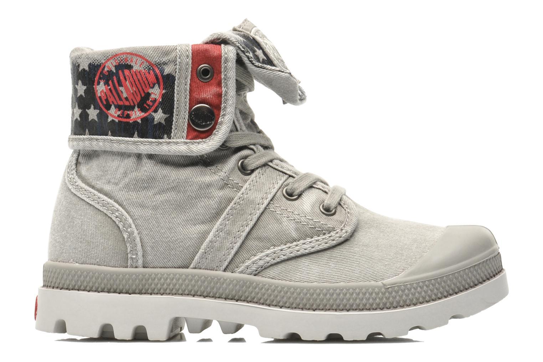 Bottines et boots Palladium Baggy Kid Flag Gris vue derrière