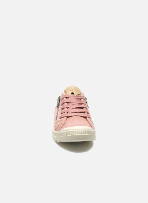 Baskets P-L-D-M By Palladium FABIAN CVS Rose vue portées chaussures
