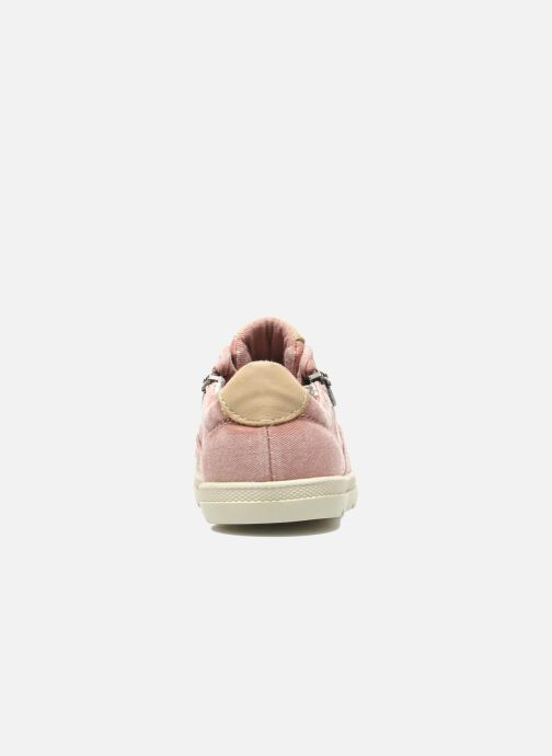 Trainers P-L-D-M By Palladium FABIAN CVS Pink view from the right