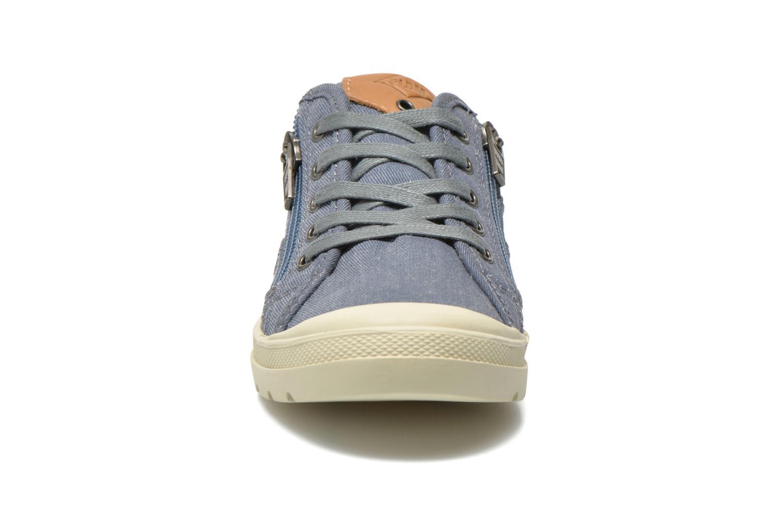 Baskets P-L-D-M By Palladium FABIAN CVS Bleu vue portées chaussures