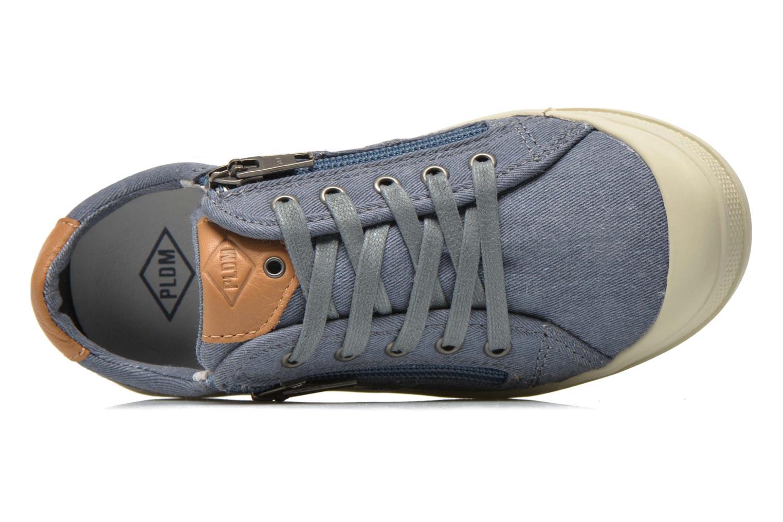 Baskets P-L-D-M By Palladium FABIAN CVS Bleu vue gauche