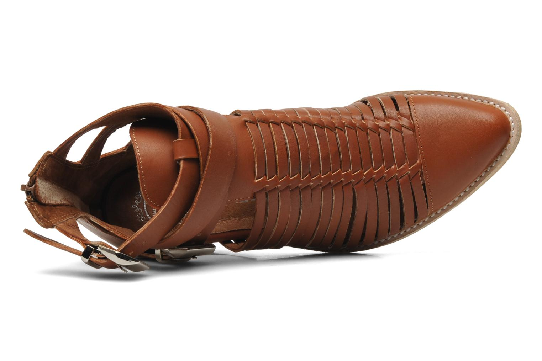 Bottines et boots Jeffrey Campbell Sewell Marron vue gauche