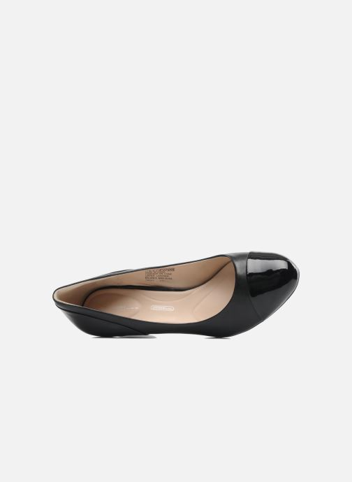 High heels Rockport Sto7H75 Color Block Pump Black view from the left