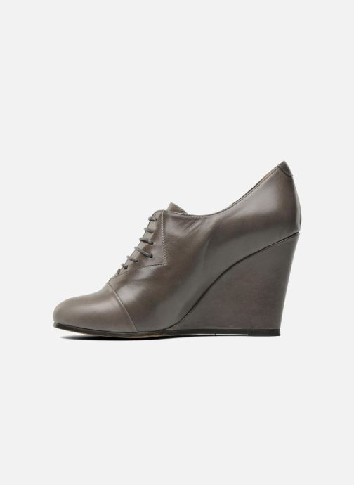 Chaussures à lacets Royal Republiq Neriya oxford shoe Gris vue face