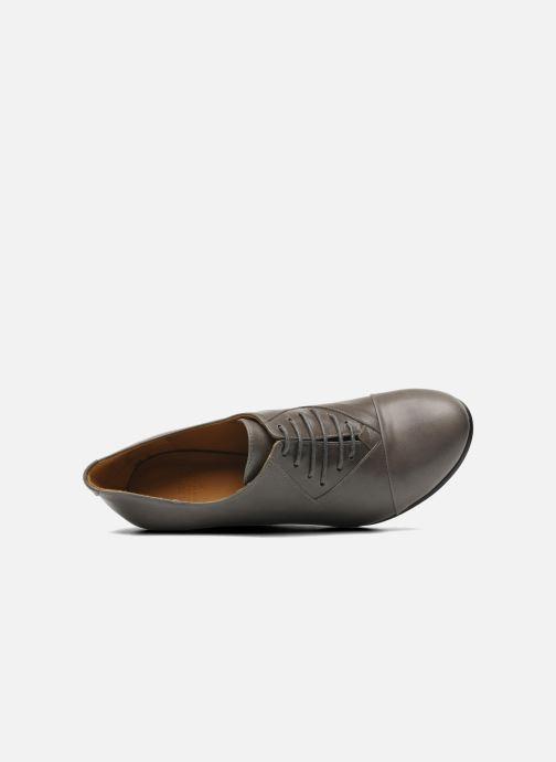 Chaussures à lacets Royal Republiq Neriya oxford shoe Gris vue gauche