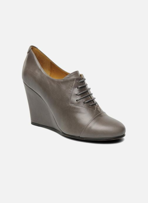 Lace-up shoes Royal Republiq Neriya oxford shoe Grey detailed view/ Pair view
