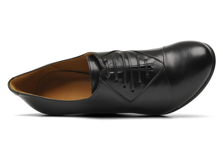 Scarpe con lacci Royal Republiq Neriya oxford shoe Nero immagine sinistra