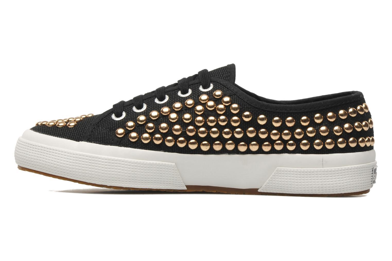 Sneakers Superga 2750 Cotstuds W Zwart voorkant