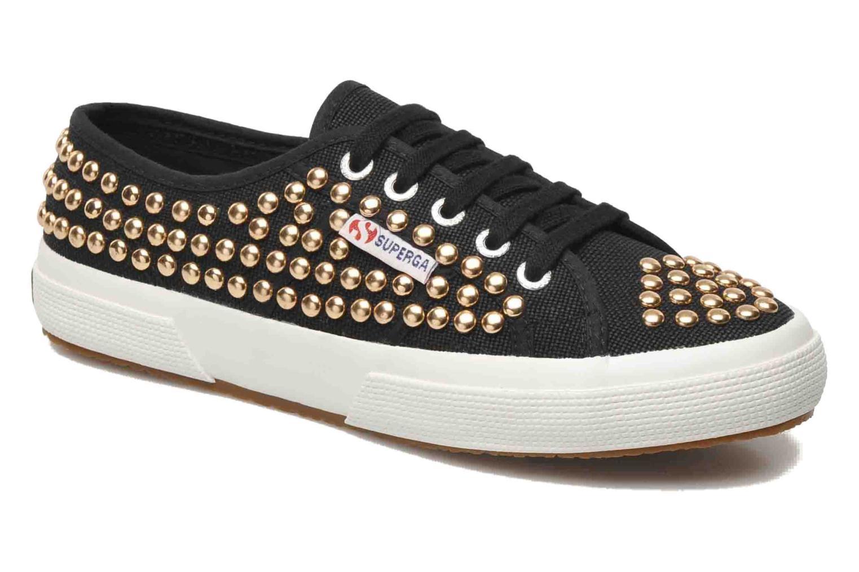 Sneakers Superga 2750 Cotstuds W Zwart detail