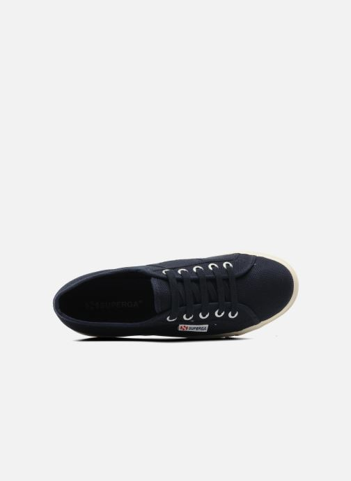 Sneakers Superga 2790 Cot Plato Linea W Blauw links