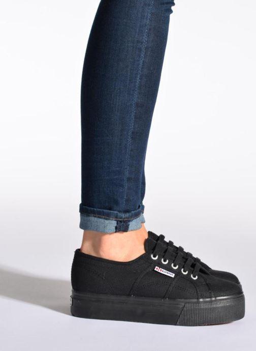 Sneakers Superga 2790 Cot Plato Linea W Bianco immagine dal basso