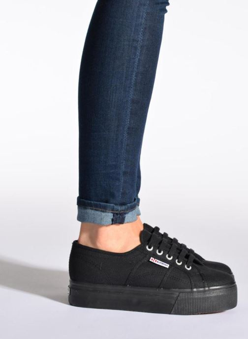 Sneakers Superga 2790 Cot Plato Linea W Wit onder