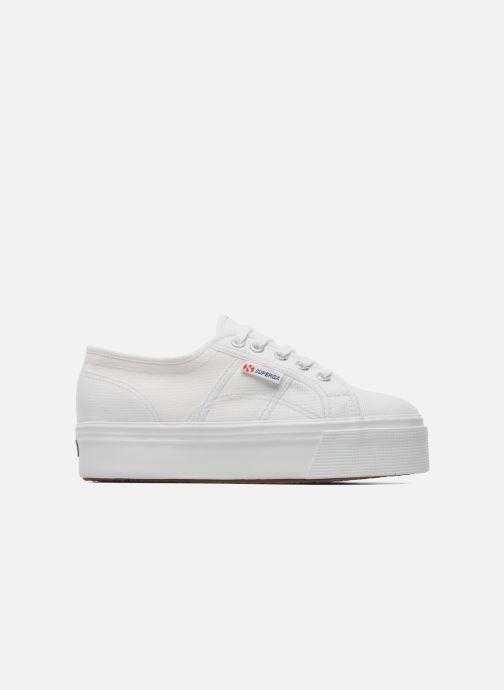 Sneakers Superga 2790 Cot Plato Linea W Wit achterkant