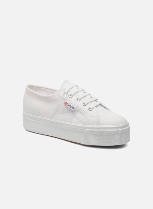 Sneakers Superga 2790 Cot Plato Linea W Wit detail