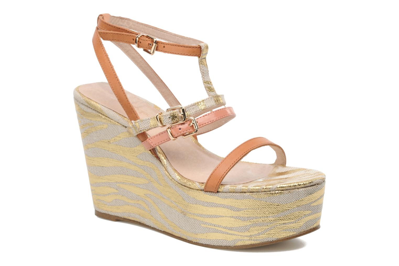 Sandales et nu-pieds Mellow Yellow Peach Rose vue détail/paire