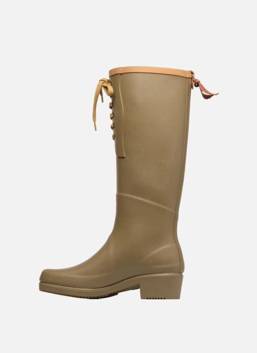 Boots & wellies Aigle Miss Juliette L Green front view