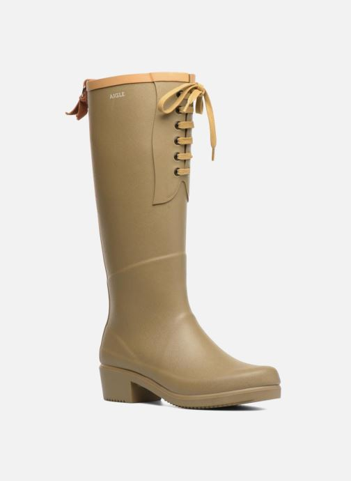 Boots & wellies Aigle Miss Juliette L Green detailed view/ Pair view